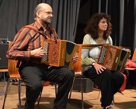 Gabi Haun und Werner Bachmann